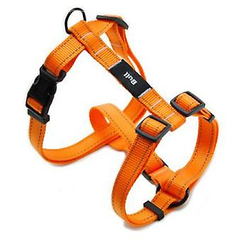 Bull Fluor Orange Harness (Dogs , Collars, Leads and Harnesses , Harnesses)