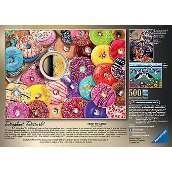 Ravensburger Doughnut Disturb! Jigsaw Puzzle (500 Pieces)