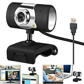 USB 2.0 HD Webcam Camera Web Cam with Microphone for Computer PC Laptops Desktop