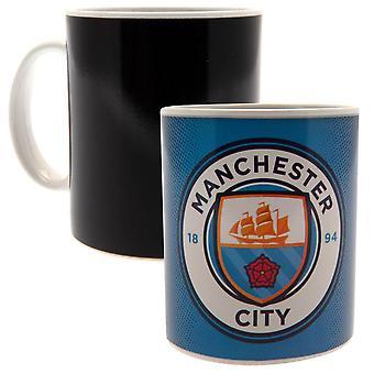 Manchester City FC calor taza cambiante