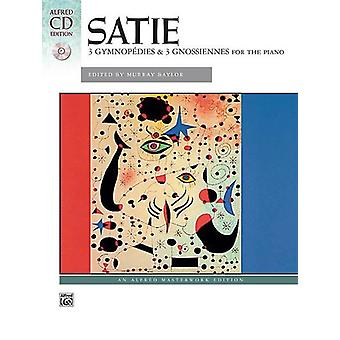 Three Gymnopodie/Gnossiennes (piano/CD)