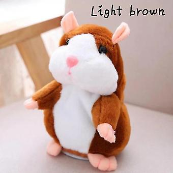 New Cute Talking Nod Hamster Mouse Electric Spark Sound Recording Chat Mimicry Pet Plush Toy