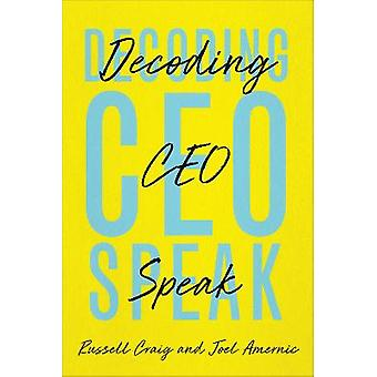 Decoding CEO-Speak