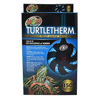 Zoo Med Turtletherm Automatic Preset Aquatic Turtle Heater - 150 Watt (Up to 50 Gallons)