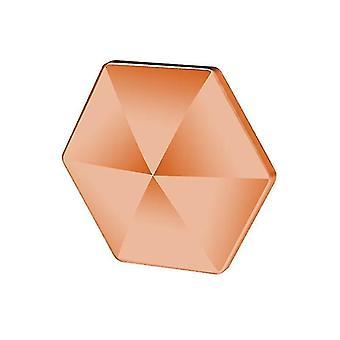 Spinning tops 6 sided hexagon anti stress flipo flip desk rotating pocket toys fidget spinner 6-sided-abs-l