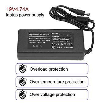 90W Универсальный ac dc адаптер питания зарядное устройство для большинства ноутбуков 19v 4.74a