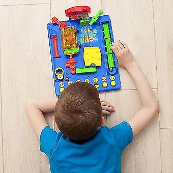 ヴェナリサ知的デスクトップゲームボールアドベンチャーパズル子供の大人の教育おもちゃゲームアドベンチャーブレイキング