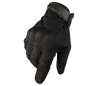 Respirabil Touch Screen Full Finger Gloves Hard Knuckle Gear Gloves