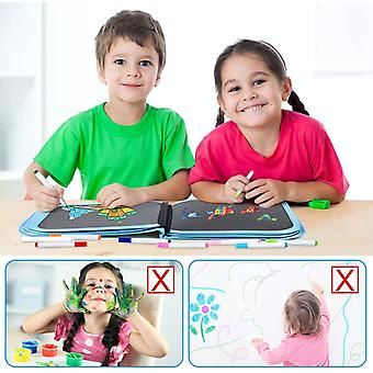 Erasable Doodle Book, Kids Activity Painting Toys, Portable Travel Drawing Pad For Airplane Car, Double Sided Painting Board, Educational Toys Gifts F