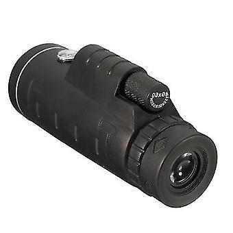 40x60 High-definition Kikkert Night Vision Udendørs Vandreture Kikkert Portable Vandtæt Monoculars For Bird Watching Mobiltelefon Kikkert