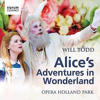 Todd / Opera Holland Park / Waldren - Alice's Adventures in Wonderland [CD] USA import