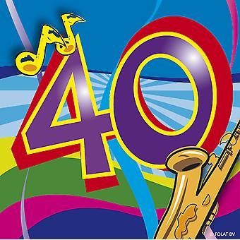 عيد ميلاد والمناديل 40 عيد ميلاد الديكور الطرف عزر الموسيقى منديل 20 أجهزة الكمبيوتر