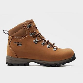 New Brasher Women's Country Walker Boots Brown