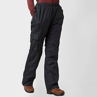 New Peter Storm Women's Storm Waterproof Trousers Black