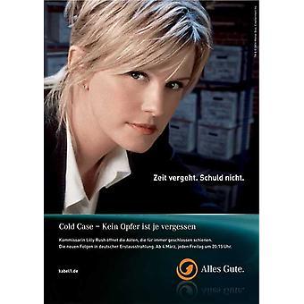 Poster do filme caso frio (11 x 17)