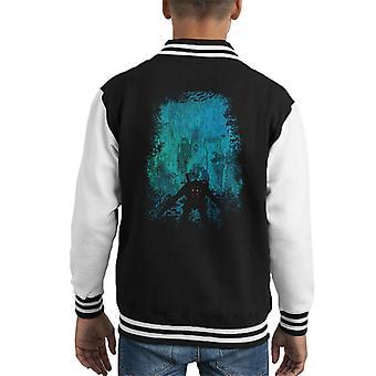 Bioshock Big Daddy Discovering Rapture Kid's Varsity Jacket