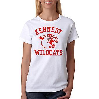 The Wonder Years Kennedy Wildcats Women's White T-shirt