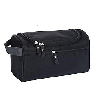 Deluxe Travel cosméticos hacer aseo caso negro lavado bolso Organizador bolsa