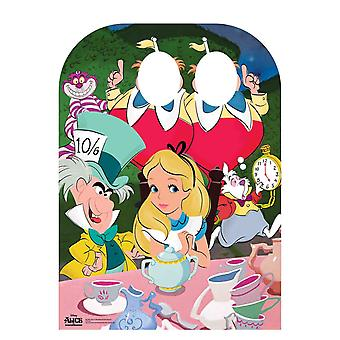 Alice In Wonderland Mad Hatter's Tea Party Barn Størrelse Stand-in Papp Cutout / Standee
