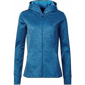 Berghaus Womens Kamloops Hooded Fleece Jacket - 14 - Blue