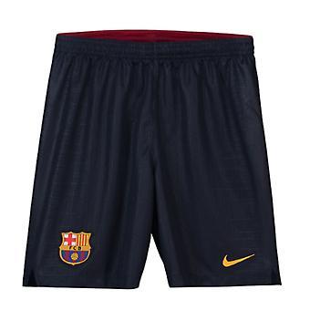 2018-2019 Barcelona Home Shorts Nike Fußball Navy (Kids)