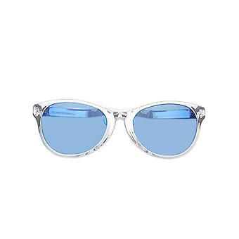 Jumbo Silber Wayfarer metallische Gläser