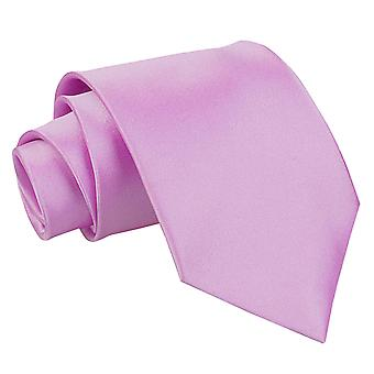 Lilla almindelig Satin ekstra lange slips