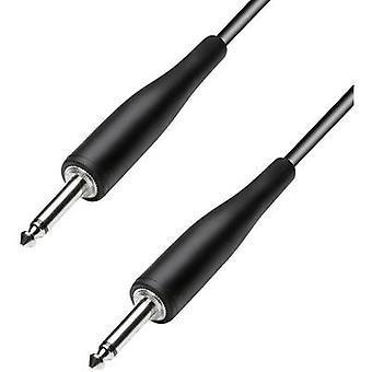 Paccs HIC23BK060SD Instruments Kaapeli [1x Pistoke 6,35 mm - 1x Pistoke 6,35 mm] 6,00 m Musta