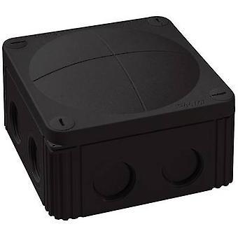 Wiska 10060648 בתיבת הצומת (L x W x H) 110 x 110 x 66 mm IP66 שחור/IP67