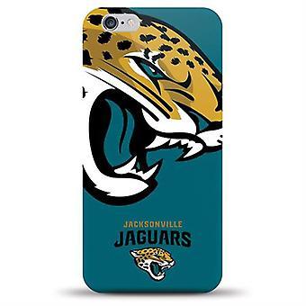 Mizco スポーツ NFL 特大 TPU ケース iPhone のため 6/6 s (ジャクソンビル ・ ジャガーズ)