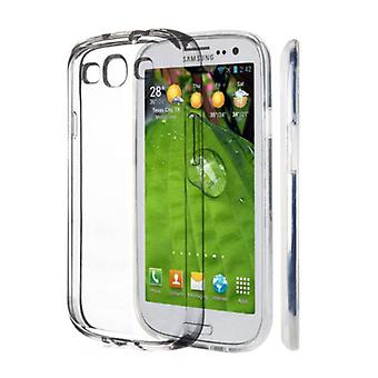 Stuff Certified ® 2-Pack Transparent Clear Silicone Case Cover TPU Case Samsung Galaxy S3
