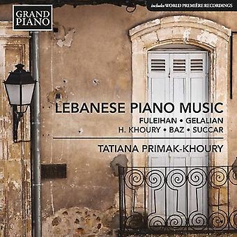Baz / Fuleihan / Primak-Khoury - Lebanese Piano Music [CD] USA import