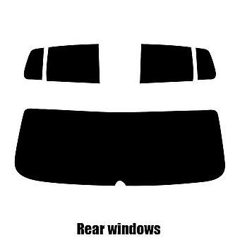 Pre cut window tint - VW Fox 5-door Hatchback - 2005 to 2009 - Rear windows
