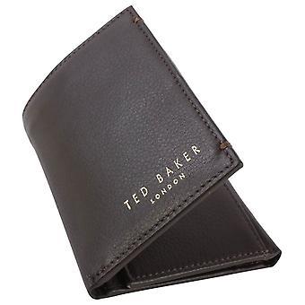 Ted Baker Jonnys Mini cartão carteira - Chocolate
