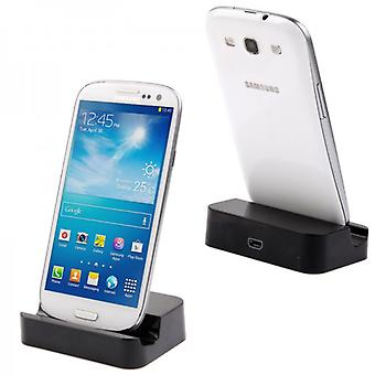 Docking Station Black for Samsung Galaxy S6 G920 G920F