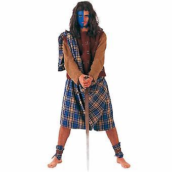 Sajjad Highländer mannen vechter jocks kostuum Highländerkostüm mens kostuum kostuum