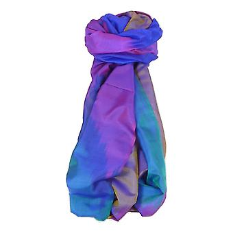 Varanasi Ekal Premium Silk lange sjaal Heritage Range Tamwar 3 door Pashmina & Silk