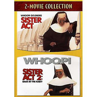 Sister Act/Sister Act 2-Back in the Habit [DVD] USA import
