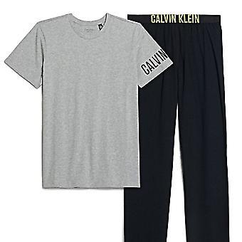 Calvin Klein мальчиков интенсивного питания PJ набора, черный / серый, средний