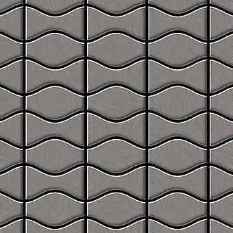 Metal mosaic Titanium ALLOY Kismet-Karma-Ti-SB