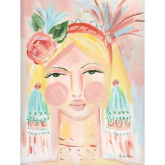 Friske ansigt Ii plakat Print af Lisette Zaman