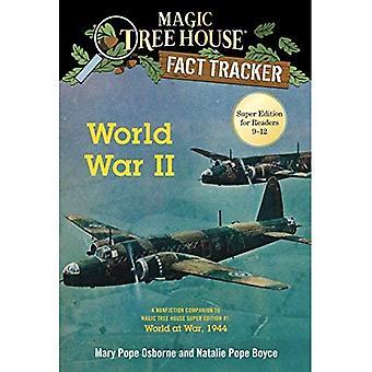 Segunda Guerra Mundial: Um companheiro de não-ficção, a casa da árvore mágica Super edição #1: World at War, 1944 (casa da árvore mágica fato Tracker)