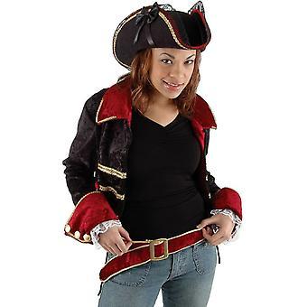Kapelusz Pani Buccaneer Black dla dorosłych