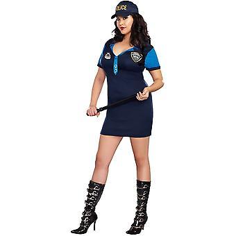 Detective Adult Dress - Sexy Plus Size Halloween Costume