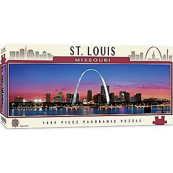 St. Louis Missouri 1000 bit Panorama pussel 990 x 330 mm (mpc)