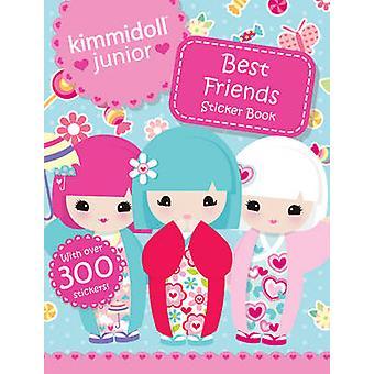 Paras ystävät tarra kirja Kimmidoll Junior-9781407143538 kirja