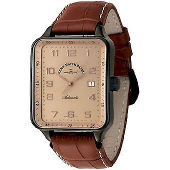Zeno-watch mens watch SQ special Retro automatic black 124-bk-f6