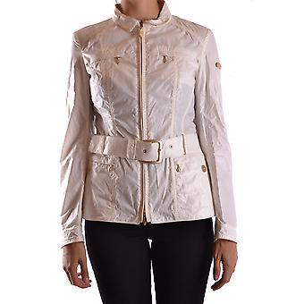 Geospirit Ezbc203022 Women's White Cotton Outerwear Jacket