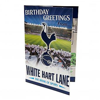Tarjeta de cumpleaños emergente Tottenham Hotspur FC