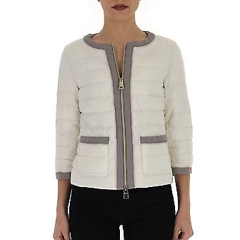 Herno Pc0054d192881008re Women's White Polyester Down Jacket